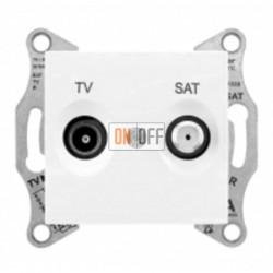 Розетка TV/FM  проходная, 4 dB Schneider Sedna, белый SDN3301821