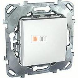 Выключатель одноклавишный перекрестный (вкл/выкл с 3-х мест) 10 А / 250 В~  Schneider Unica белый MGU5.205.18ZD