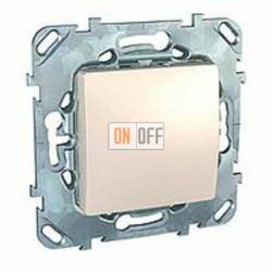 Заглушка с опорной пластиной Schneider Unica кремовый MGU5.866.25ZD