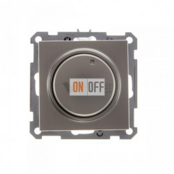 Светорегулятор поворотный 300 Вт, 230 В для галог. ламп и накаливан., Schneider W59 шампань SR-5S0-4-86
