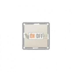 Переключатель одноклавишный (вкл/выкл с 2-х мест) 16 А 250 В, Schneider W59 слоновая кость VS616-156-2-86
