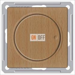 Светорегулятор поворотный 300 Вт, 230 В для галог. ламп и накаливан., Schneider W59 бук SR-5S0-8-86