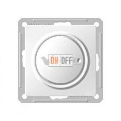 Светорегулятор поворотный 300 Вт, 230 В для галог. ламп и накаливан., Schneider W59 белый SR-5S0-1-86