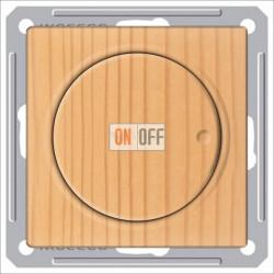 Светорегулятор поворотно-нажимной 600 Вт, 230 В для галог. ламп и накаливан., Schneider W59 сосна SR-5S2-7-86