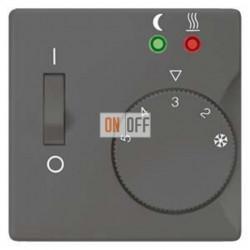 Регулятор теплого-пола с датчиком (черный-металлик) FRe 525 22 - 5TC9255