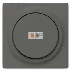 Светорегулятор поворотный 50-600 Вт. (черный-металлик) 5TC8903 - 5TC8257