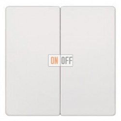 Выключатель 2-клав. из двух мест (белый) 5TG6205 - 5TA2118