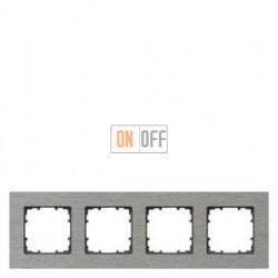 Delta Miro  металл Рамка 4-я (алюминий) 5TG11240