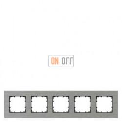 Delta Miro металл  Рамка 5-я (алюминий) 5TG11250