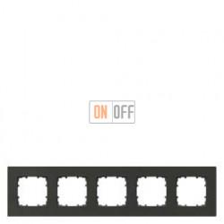 Delta Miro металл Рамка 5-я (графит) 5TG11252