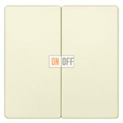 Выключатель 2-клав. (бежевый) 5TG6275 - 5TA2155
