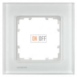Delta Miro Рамка 1-я (стекло - белое) 5TG12011