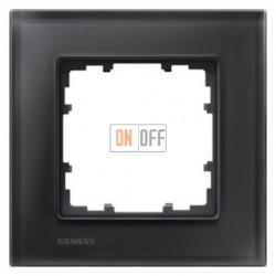 Delta Miro Рамка 1-я (стекло - черное) 5TG12012