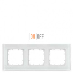 Delta Miro Рамка 3-я (стекло - белое) 5TG12031