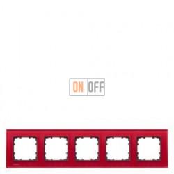 Delta Miro Рамка 5-я (стекло - красное) 5TG12053