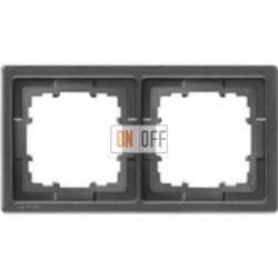 Delta style Рамка 2-я (базальт черный) 5TG1362