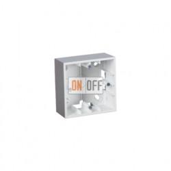 Коробка одинарная для накладного монтажа, 1 пост, алюминий 1590751-033