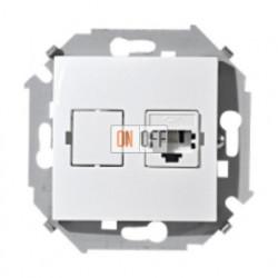 Телефонная розетка Simon 15 RJ-11 (белая) 1591480-030