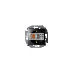 Розетка с заземлением Simon 15, 16А 250В, винтовой зажим, графит 1591432-038