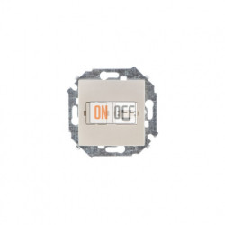 Розетка компьютерная одинарная RJ45 кат.5е, шампань 1591598-034