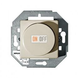 Светорегулятор поворотный Simon от 40 до 300 Вт (Слоновая кость) 75311-39 - 27054-32