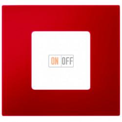Рамка-декор 1 постовая Красный 2700617-037