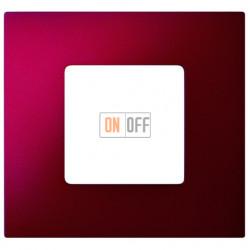 Рамка-декор 1 постовая Артик Красный 2700617-080