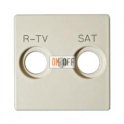 Розетка R-TV + SAT - Проходная Simon 82 (слоновая кость) 75467-69 - 82097-31
