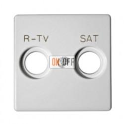 Розетка R-TV + SAT - Проходная Simon 82 (белый) 75467-69 - 82097-30