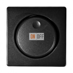 Светорегулятор (выключатель/переключатель), от 40 до 500 Вт 230 В~ Simon 82 (графит) 75313-39 - 82054-38