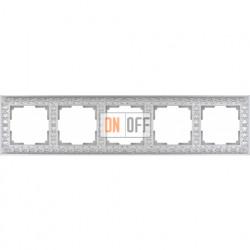 Рамка пятерная Werkel Antik, жемчужный a031786