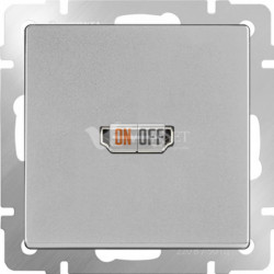 Розетка HDMI Werkel, серебряный a036557