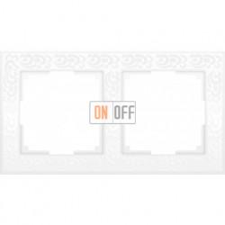 Рамка двойная Werkel Flock, белый a028963