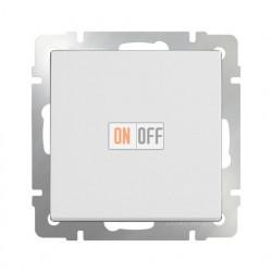 Выключатель одноклавишный проходной (из 2-х мест) 10 AX - 250 В, Werkel белый a028644
