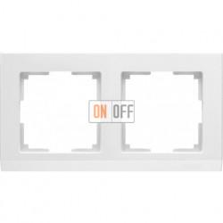 Рамка двойная Werkel Stark, белый a028922