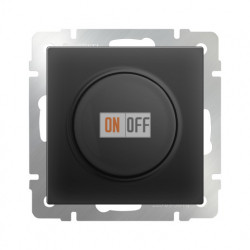 Светорегулятор поворотный до 600 Вт, Werkel черный матовый a029853