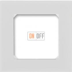 Рамка 1-ая (одинарная), цвет Серый/Белый, Levit, ABB