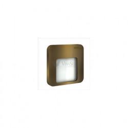 Светильник Zamel Ledix Moza Золото/Холодный белый в монт. коробку, 230V AC с  радиоприемником 01-224-41