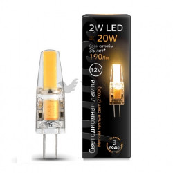 Лампа Gauss LED G4 2W 12V 2700K 207707102