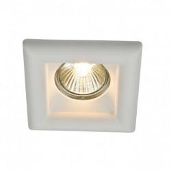 Встраиваемый светильник Maytoni Gyps DL007-1-01-W