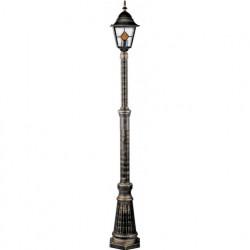 Садово-парковый светильник Arte Lamp Berlin A1017PA-1BN