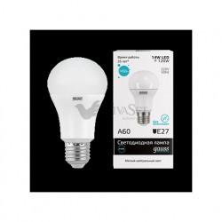 Лампа Gauss LED Elementary A60 14W E27 4100K 1/10/40 23224