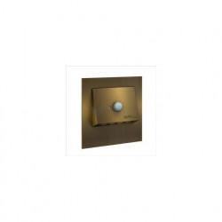 Светильник Zamel Ledix Navi Золото/Холодный белый в монт.коробку, 230V AC с датчиком движения 11-222-41