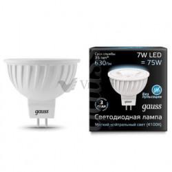 Лампа Gauss LED MR16 GU5.3 7W 4100K FR 101505207