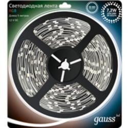 Светодиодная лента Gauss RGB 5050/30-SMD 7.2W 12V DC 312000407