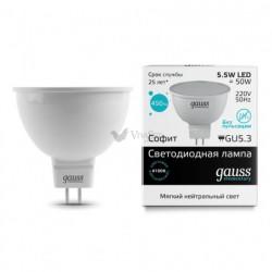Лампа Gauss LED Elementary LENS MR16 GU5.3 3.5W 4100K 16524