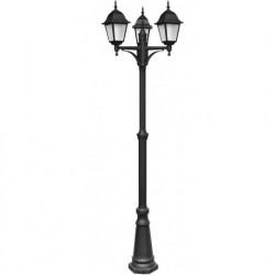 Садово-парковый светильник Arte Lamp Bremen A1017PA-3BK
