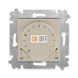 Терморегулятор для теплого пола, цвет Макиато/Белый, Levit, ABB