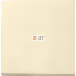 Выключатель 1-клавишный, перекрестный (с трех мест), цвет Бежевый, Gira
