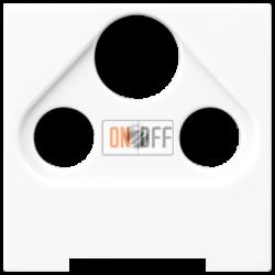 Розетка телевизионная оконечная ТV-FМ-SАТ, цвет Белый, A500, Jung